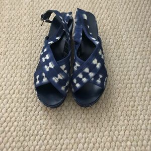 J. Crew wedge size 7.5 brand new